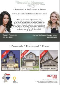 Coopers Crossing Airdrie Home Sales